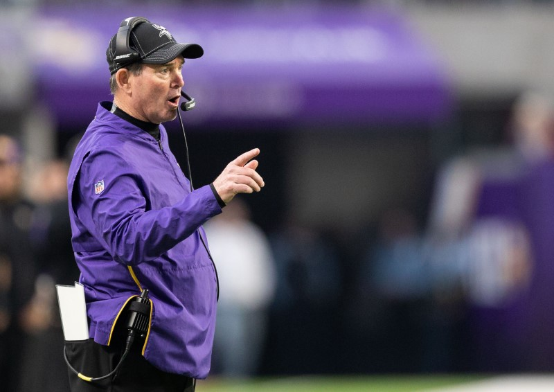 Vikings Committed To Mike Zimmer