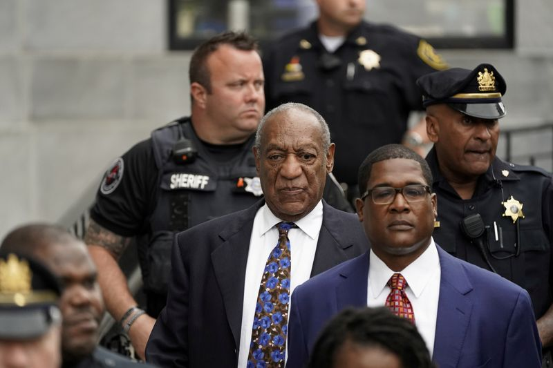 FILE PHOTO: Actor and comedian Bill Cosby leaves the Montgomery County Courthouse in Norristown, Pennsylvania