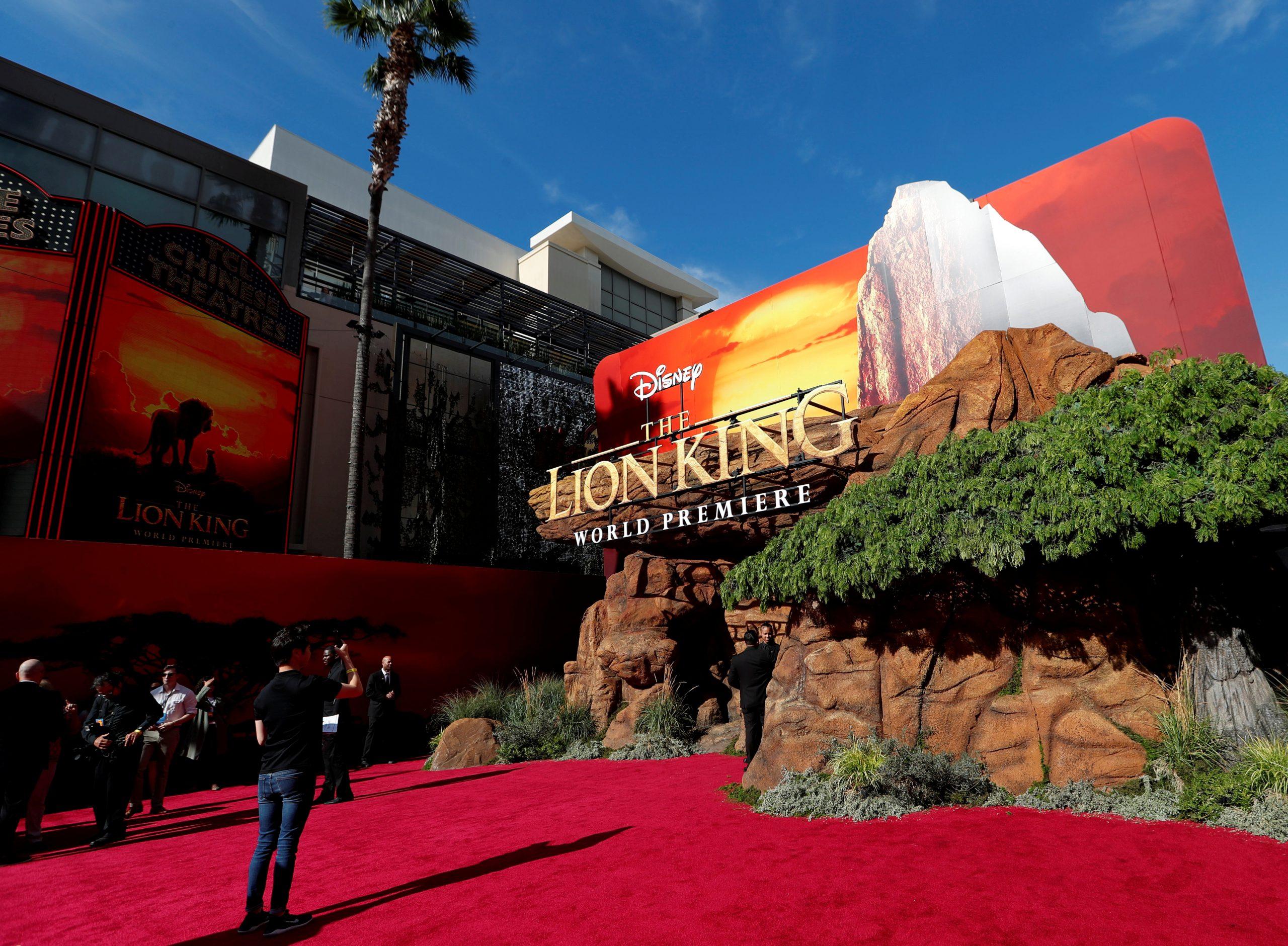 FILE PHOTO: World Premiere of Disney's