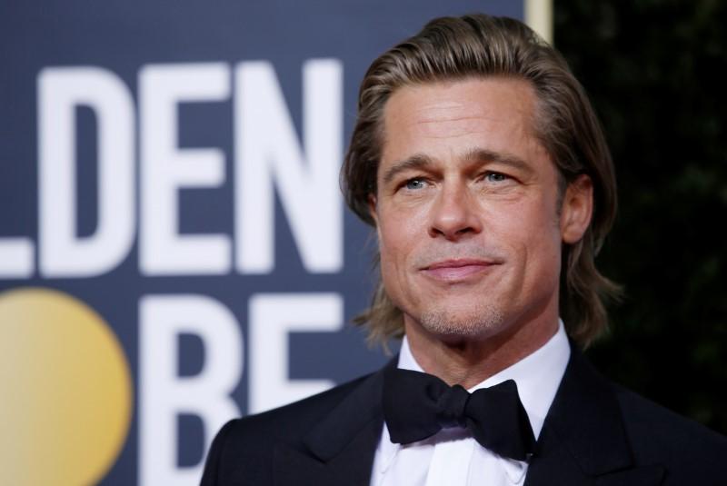FILE PHOTO: Brad Pitt at the 77th Golden Globe Awards
