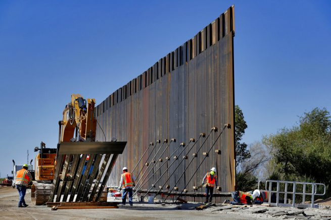 Pentagon gets request to build roughly 270 miles of Trump border wall