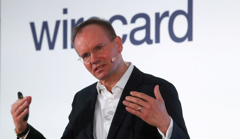 FILE PHOTO: Wirecard CEO Markus Braun speaks at the company's 2019 annual news conference in Aschheim