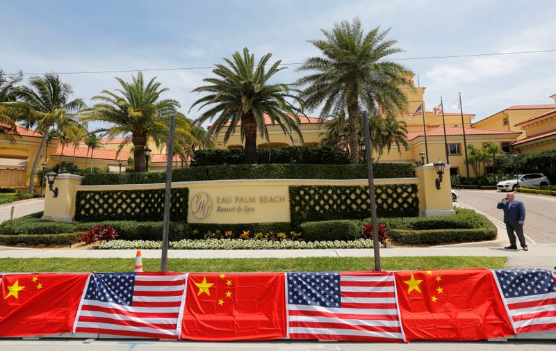 FILE PHOTO: The Eau Palm Beach Resort and Spa where Chinese President Xi Jinping will stay is shown in Manalapan