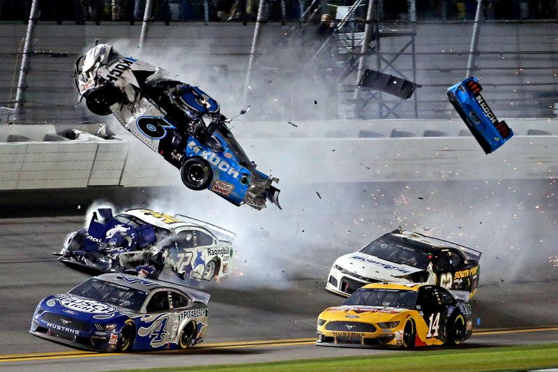 NASCAR's Ryan Newman taken to hospital after last-lap Daytona 500 crash