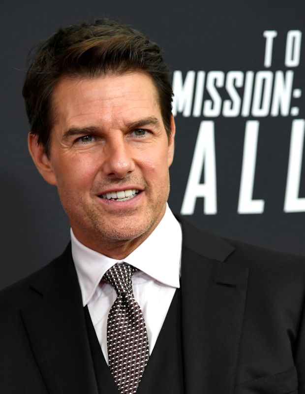 FILE PHOTO: Actor Tom Cruise arrives for Mission:Impossible film premiere in Washington
