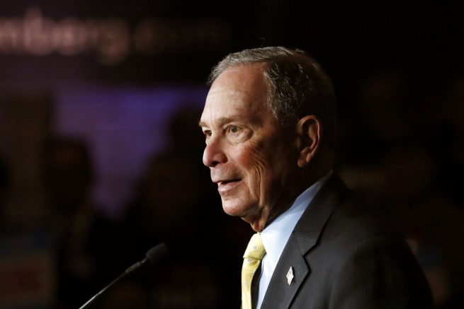 Mike Bloomberg fights back with three endorsements from black Congress members