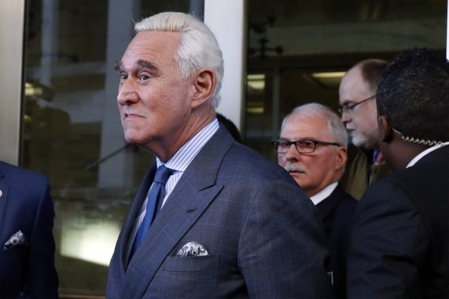 Trump calls for case against Roger Stone to be thrown out