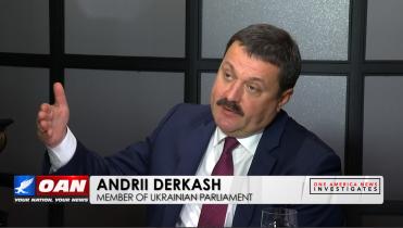 Andrii Derkash, acting Member of Ukrainian Parliament