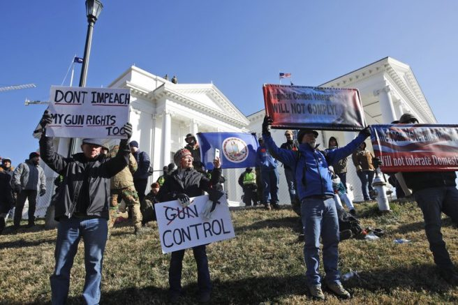 Virginia State Lawmakers Shelve Democrat-Backed Gun-Control Measures