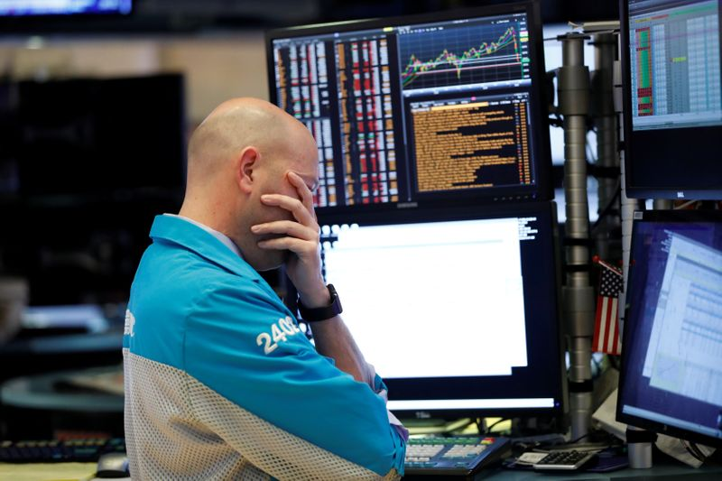 Dow Plunges Over 1,000 Points as Wild Market Swings Continue