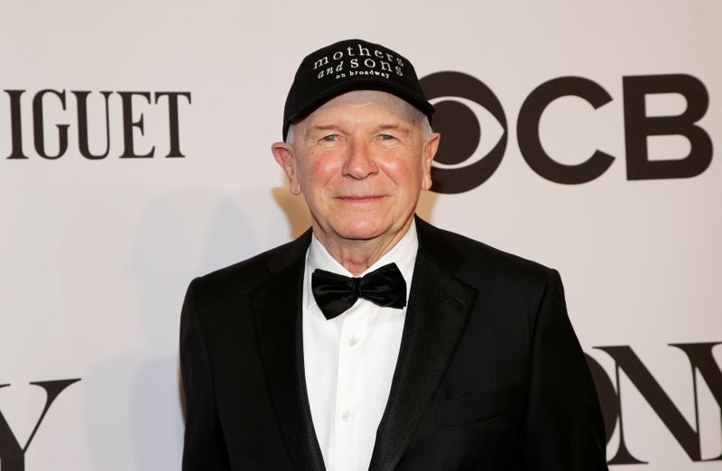 FILE PHOTO: Terrence McNally arrives for the American Theatre Wing's 68th annual Tony Awards at Radio City Music Hall in New York