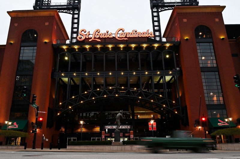 MLB: Coronavirus-Busch Stadium Views