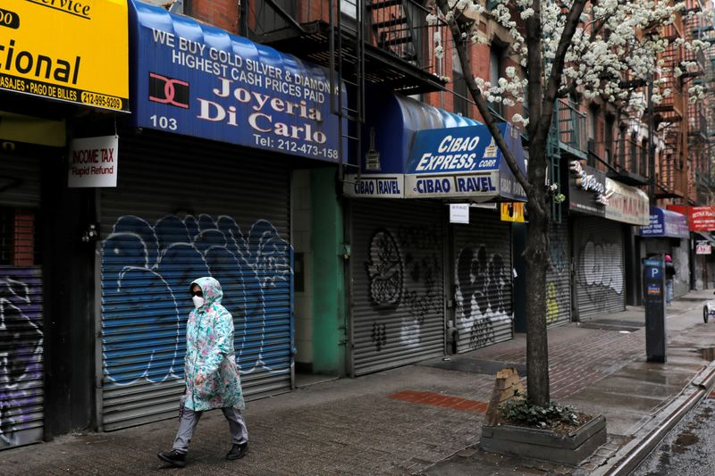 The coronavirus disease (COVID-19) outbreak in Manhattan, New York City