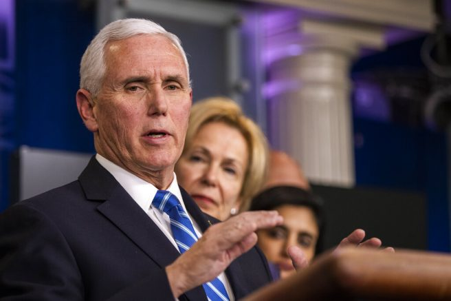Travel clampdown needed to contain U.S. coronavirus outbreak: Pence
