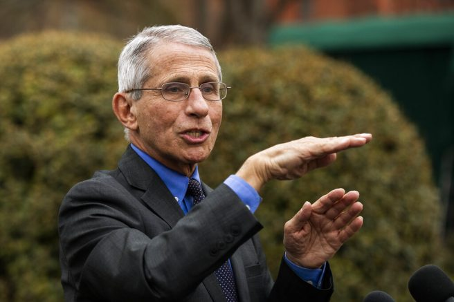 Dr. Fauci: Social Distancing Needed for 'Several Weeks'