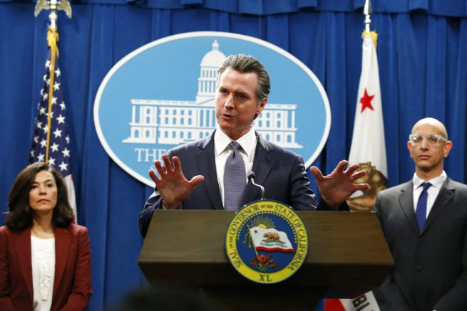 Calif. Gov. Newsom issues statewide 'Stay At Home' order