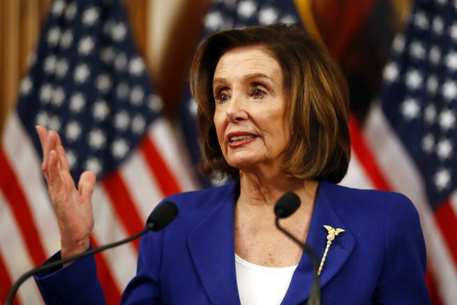Pelosi Claims Trump's Denial of the Coronavirus Crisis Is 'Deadly'