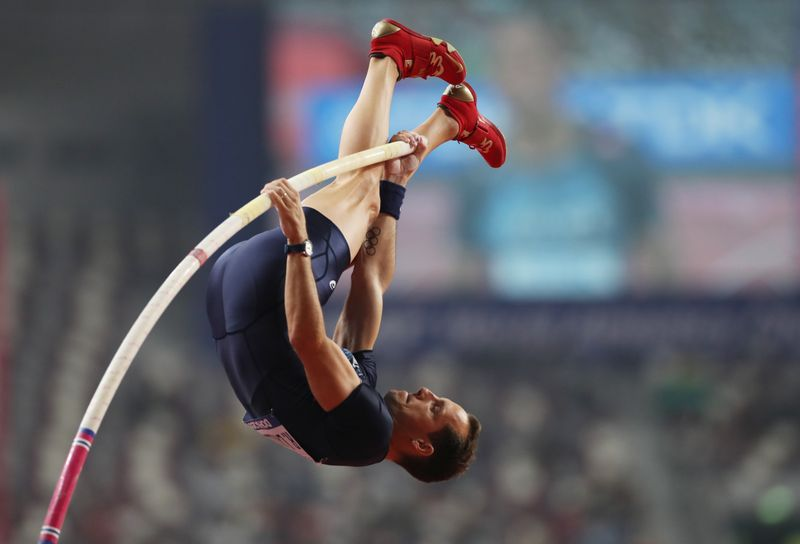 Athletics: Lavillenie claims 'international home containment' title