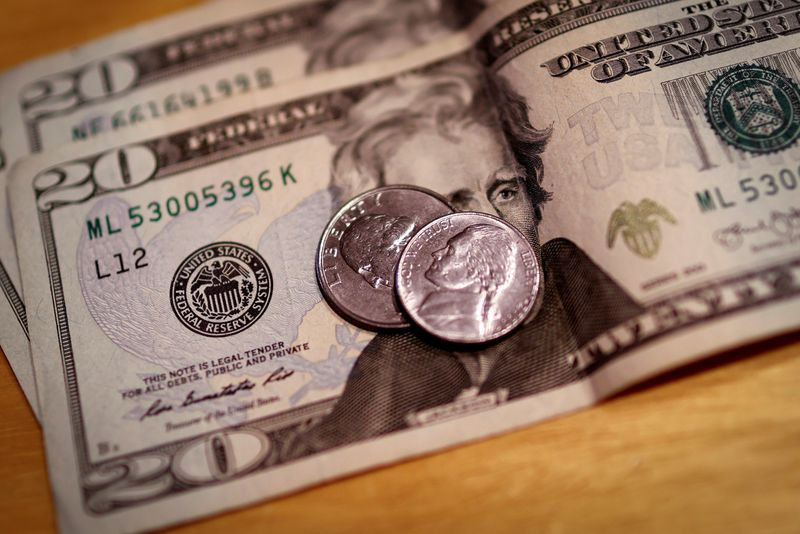 FILE PHOTO: FILE PHOTO: U.S. currency is seen in this picture illustration