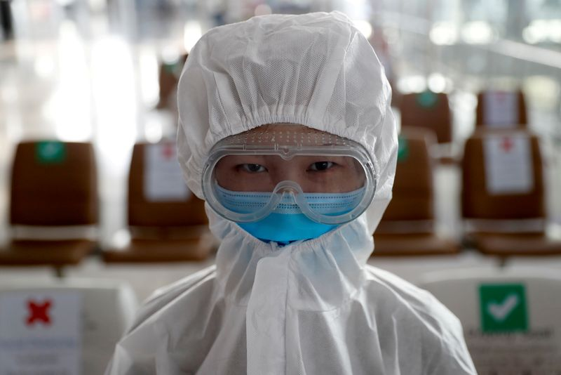 FILE PHOTO:  Coronavirus disease (COVID-19) outbreak in Bangkok, Thailand