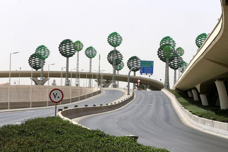 FILE PHOTO: Riyadh full lockdown to counter coronavirus disease (COVID-19)