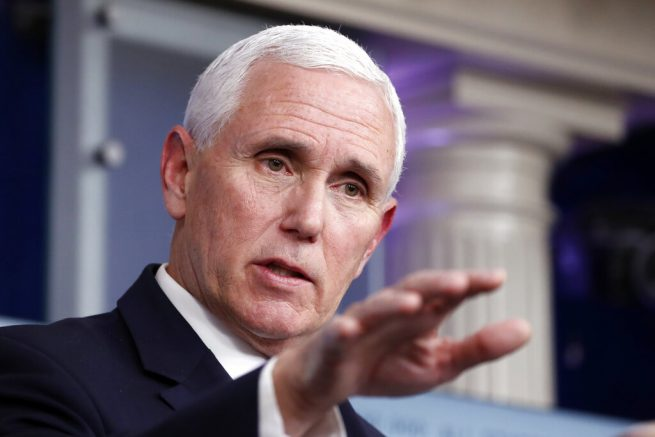 US wants to help coronavirus patients without health cover, says Pence