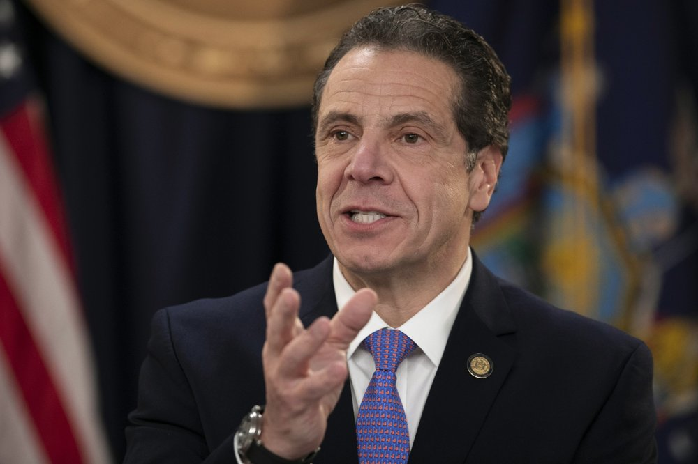 Cuomo Says Northeast U.S. Governors Will Coordinate Reopenings