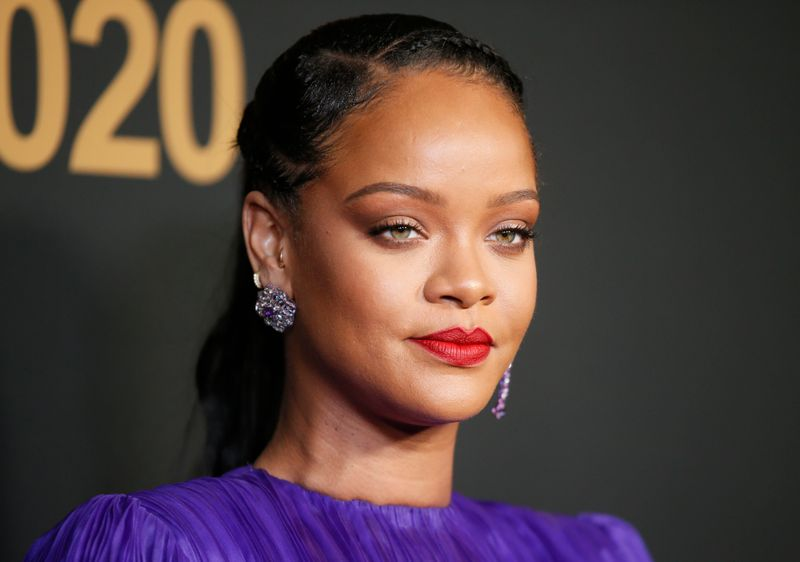 Rihanna declared third richest young musician by Sunday Times