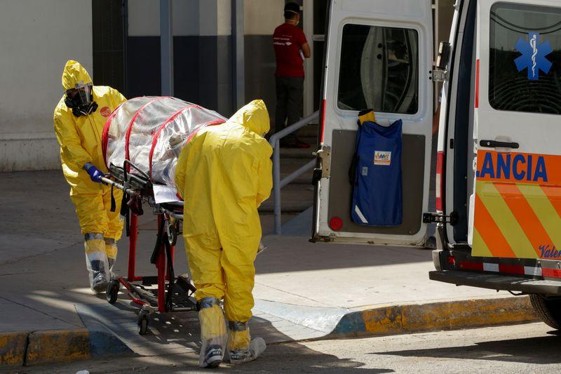 FILE PHOTO:  Outbreak of the coronavirus disease (COVID-19), in Ciudad Juarez