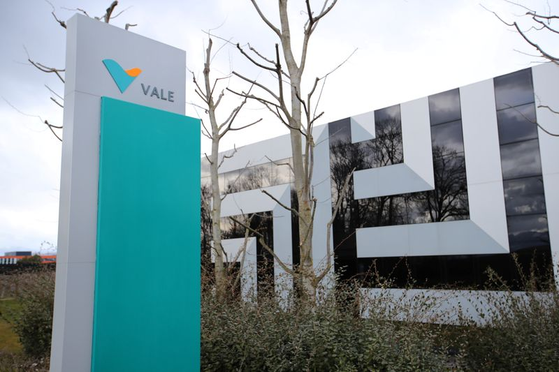 The headquarters of of mining company Vale SA is pictured in St-Prex