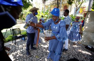 Haiti voodoo leaders prepare temples for coronavirus sufferers