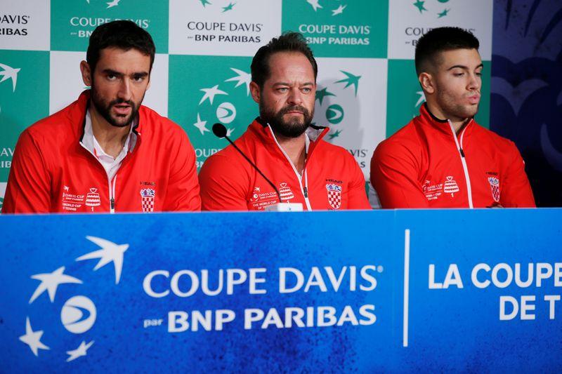 Davis Cup Final Draw - France v Croatia
