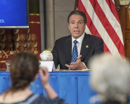 Cuomo Gives New York 'Good News' Mixed With 'Tragedy' on COVID-19