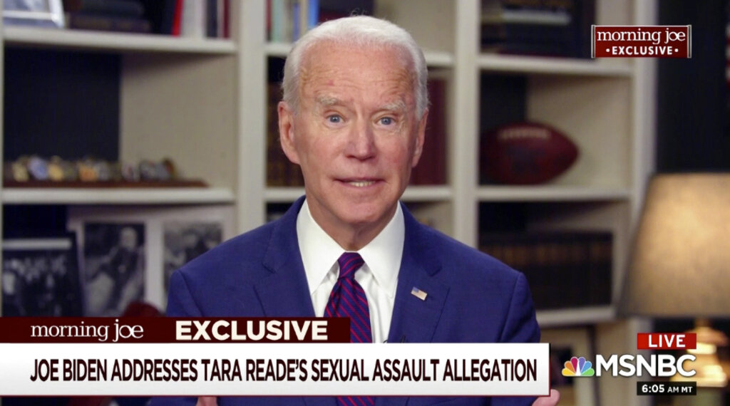 President Trump: Tara Reade's accusations 'very credible'