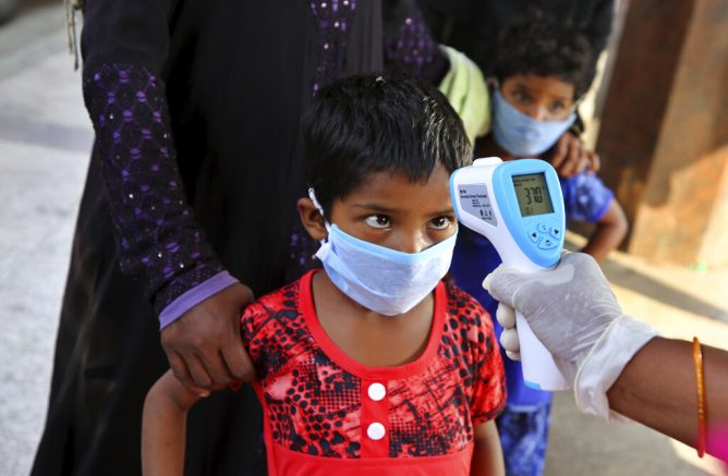 64 kids hospitalised in NY with disease possibly related to COVID-19