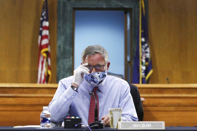 Federal Bureau of Investigation serves warrant on Richard Burr in stocks sell-off probe