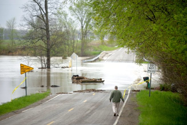 MI river rises to highest level ever after dam break