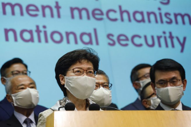 Hong Kong braces for protests over new China security law