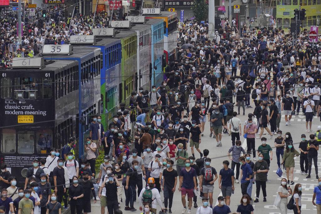 International calls rise against China's clampdown in Hong Kong
