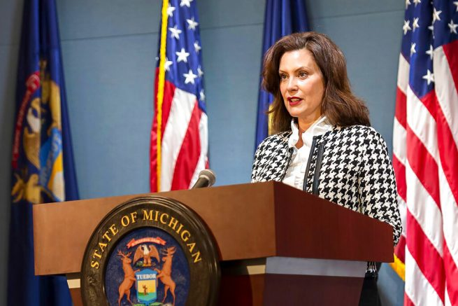 Michigan Gov. Whitmer's Husband Tried to Jump Boater Line