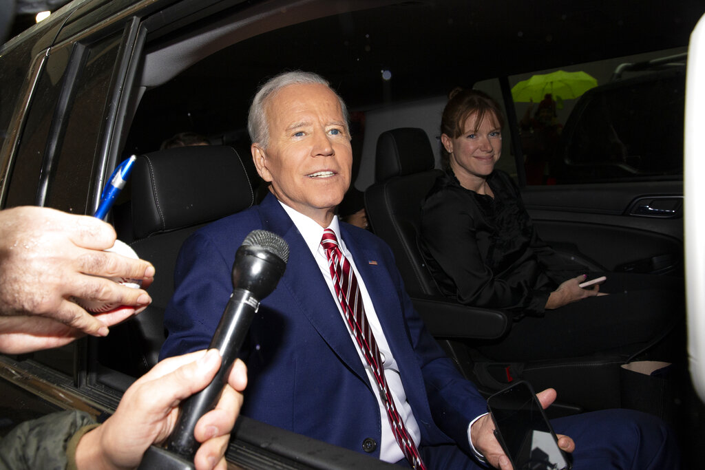 Joe Biden says he hopes to appoint the presidential vice president around August 1