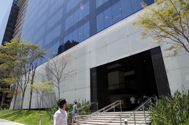 BTG Pactual bank headquarters is pictured in Sao Paulo