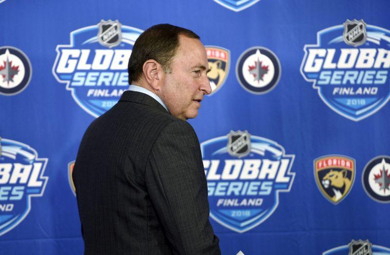 FILE PHOTO:  Ice Hockey - NHL Global Series - Florida Panthers v Winnipeg Jets