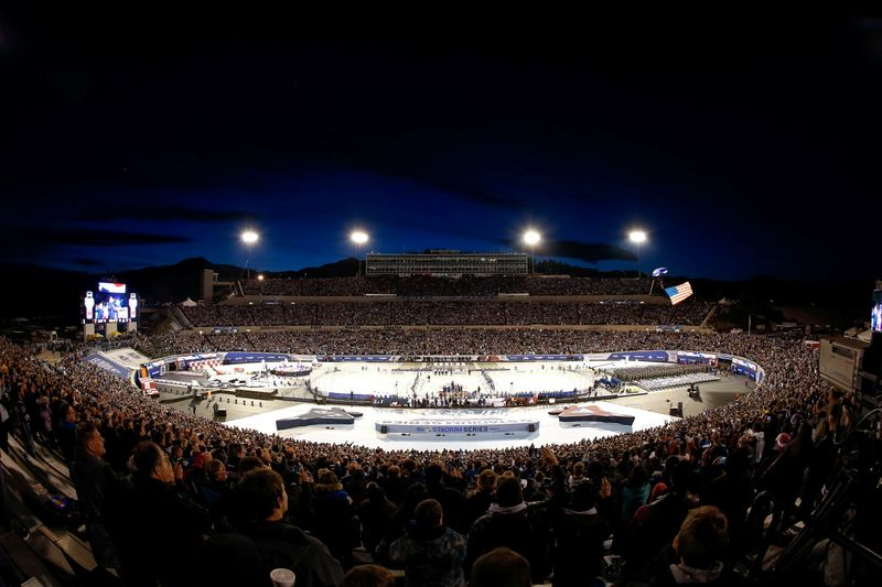 FILE PHOTO:  NHL: Stadium Series-Los Angeles Kings at Colorado Avalanche