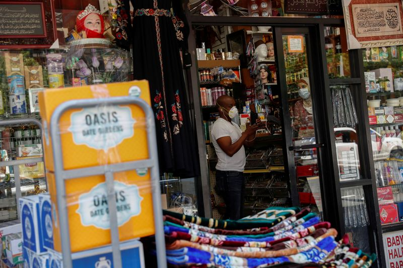 FILE PHOTO: Retail shops in Brooklyn as phase one reopening continues during outbreak of the coronavirus disease (COVID-19) in New York