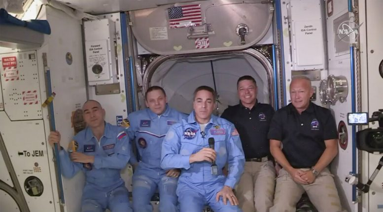 NASA astronauts describe 'smooth' docking after SpaceX launch