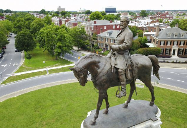 Va. gov. announces plans to remove confederate statue of Robert E. Lee