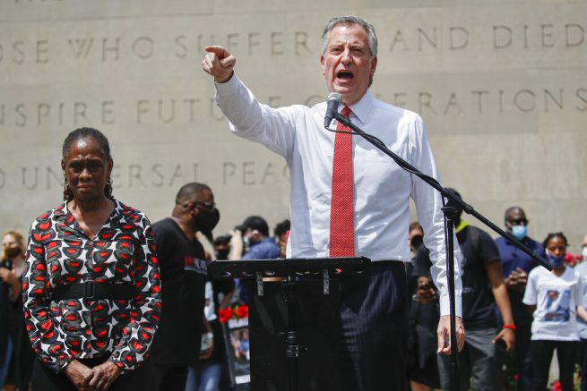 De Blasio: NYC to cut NYPD funding, shift it to social services