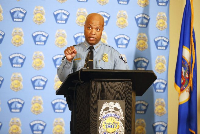 Minneapolis police chief breaks off talks with union