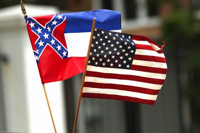 Walmart Takes Down Mississippi Flag Due To Confederate Banner Imagery